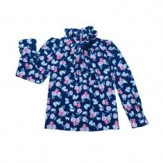 Bluza eleganta maneca lunga fete Umbo UMBF1, Multicolor