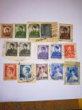 Timbre Romania: 26 timbre cu Regele Mihai