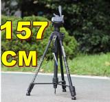 TREPIED FOTO VIDEO 157 cm, Cu cap