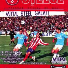 Program fotbal Otelul Galati - Jiul Petrosani 31 martie 2007
