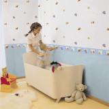 Rola tapet 10 x 0,52 m Winnie the Pooh