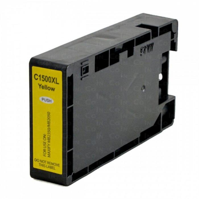 Cartus cerneala compatibil Canon PGI - 1500XL - Galben