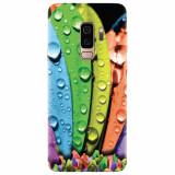 Husa silicon pentru Samsung S9 Plus, Colorful Daisy Petals