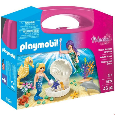 Playmobil Princess - Set portabil sirene foto