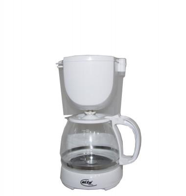 Cafetiera KM-1000.2 Elta, 750 W, Capacitate 1.25 L, 10 cesti, Functie mentinere la cald, Functie antipicurare, Alb foto