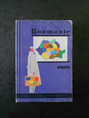 LA ROUMANIE EN FREF (ghid, 1966) foto