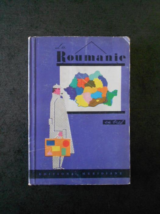 LA ROUMANIE EN FREF (ghid, 1966)