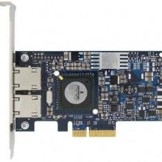 Placa Retea Dell Broadcom 5709 NetXtreme II, Dual Port, PCI Express 4x