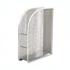 Suport dosar metalic mesh Forpus 30559 silver