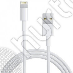 Cablu USB white 2M iPhone 5 Lightning iPad 4 iPod