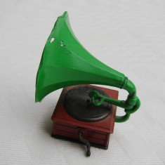 Ascutitoare in forma de gramofon