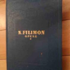 Opere Vol.1 - N. Filimon ,536148