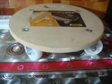 Suport rotund pe roti 250kg -workzone