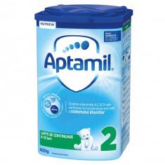 Lapte praf Nutricia Aptamil 2, 800 g, 6-12 luni