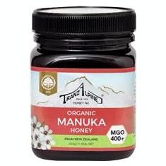 Miere de Manuka Bio MGO 400+ 250gr TranzAlpine Cod: 420129