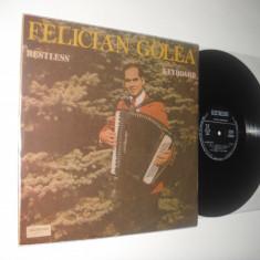 Felician Golea : Restless Keyboard (1989) vinil raricel stare impecabila (NM/NM)