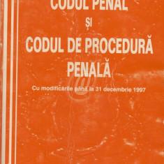 Codul penal si codul de procedura penala. Cu modificarile pama la 31 decembrie 1997