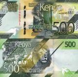 = KENYA - 500 SHILLINGS - 2019 - UNC  =