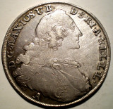 G.242 GERMANIA BAVARIA MAXIMILIAN III JOSEF 1 THALER TALER 1765 A ARGINT 28,02g