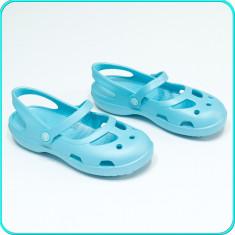 NOI, DE FIRMA → Sandale—saboti de calitate, comozi, usori, CROCS → fete | nr. 32