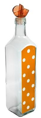 Sticla ulei masline M-151250 750ml orange cu buline Raki