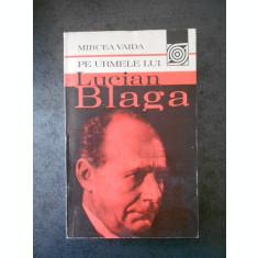 MIRCEA VAIDA - PE URMELE LUI LUCIAN BLAGA
