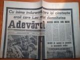 Adevarul 13 ianuarie 1990-art 200000 de oameni in genunchi la mormintele eroilor