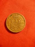 Moneda 5 lei 1930 semn monetar Paris , Mihai copil , cal.f.buna