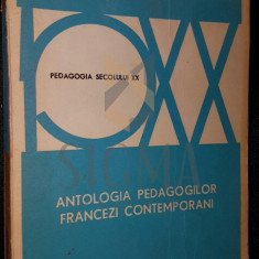 ANTOLOGIA PEDAGOGILOR FRANCEZI CONTEMPORANI - JACQUELINE CAMBON , RICHARD DELCHET