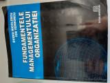 FUNDAMENTELE MANAGEMENTULUI ORGANIZATIEI - OVIDIU NICOLESCU , ION VERBONCU
