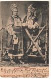 SV *  BUCOVINA DE NORD * REGIUNEA CERNAUTI * FETE DE LA TARA       1903 ?, Circulata, Necirculata, Fotografie, Printata