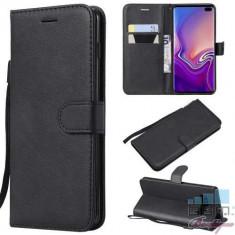 Husa Flip Cu Stand Samsung Galaxy S10 Plus Neagra