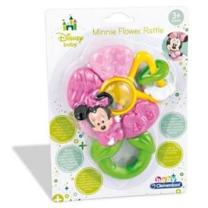 Jucarie zornaitoare in forma floare cu personajul Minnie Mouse Clementoni