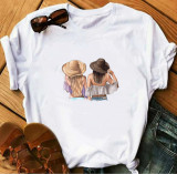 Cumpara ieftin Tricou Personalizat din bumbac -Hat BFF Girls