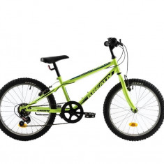 Bicicleta Copii Kreativ 2013 Galben Negru 20 inch