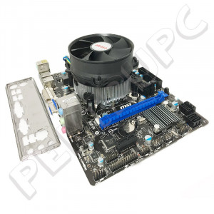 GARANTIE! KIT MSI H61M-P31/W8 + i5 2400 3.10GHz (pana la 3.40GHZ) + cooler