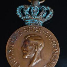 Medalie / Decoratie - Medalia Ferdinand