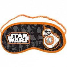 Masca de protectie pentru somn Star Wars BB8, portocaliu