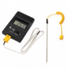 Termometru Digital cu doua sonde K Type -50°C to 1200°C
