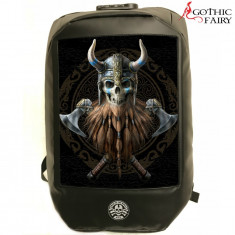 Rucsac bikeri Bad To The Bone - imagine 3D Vikingul
