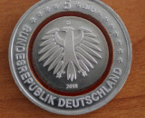 moneda Germania 5 Euro 2018 G - zona Subtropicala - UNC