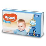 Scutece Huggies Ultra Confort Mega, Numarul 4, pentru baieti, 66 bucati, 8-14 Kg EVO