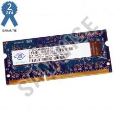 Memorie 2GB Nanya DDR3 1333MHz SODIMM, pentru laptop, notebook