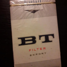 Pachet vechi de tigari BT din perioada comunista RSR de colectie