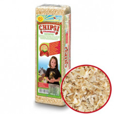 Chipsi Strawberry 15 L, asternut igienic capsuni