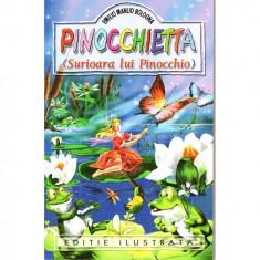 Pinocchietta (Surioara lui Pinocchio) - Ed. ilustrata - Emilio Manlio Bologna