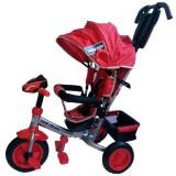 Tricicleta Multifunctionala Cu Sunete Si Lumini Lux Trike Red, Baby Mix