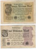 Bancnote Germania- 2 , 20 milioane marci1923