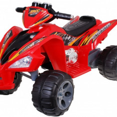 Quad Sport electric Malipen, rosu