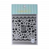5D autocolante pentru unghii - flori - Pro-083